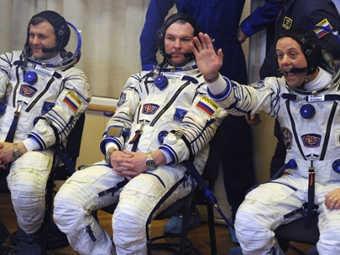 Слева направо: Андрей Борисенко, Александр Самокутяев и Роналд Гаран. Фото ©AFP