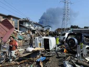 Последствия землетрясения и цунами в Японии. Фото ©AFP