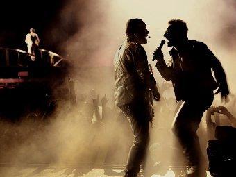 Выступление U2 в Сан-Паулу, фото с сайта группы