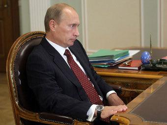 Владимир Путин. Фото пресс-службы Правительства России
