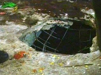 """Кадр с места теракта, переданный телеканалом """"Россия 1"""""""