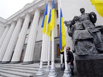 Здание Верховной Рады. Фото ©AFP