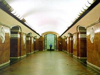 """Станция """"Университет"""" киевского метро. Фото с сайта obozrevatel.com"""
