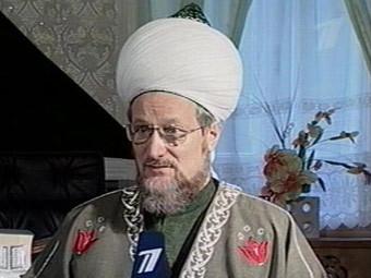Талгат Таджуддин. Кадр Первого канала, архив