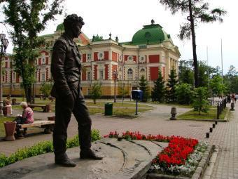 Музей Вампилова откроется в Иркутске в 2011 году.