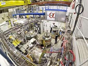 Эксперимент ALPHA. Фото пресс-службы CERN