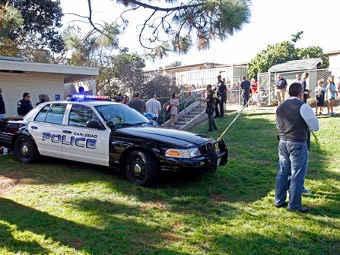 Калифорнийская полиция. Фото ©AP