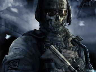 Персонаж Ghost из игр серии Modern Warfare