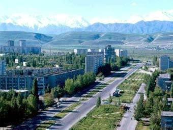 Вид на Бишкек. Фото с сайта president.kg