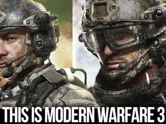 Арт к игре Modern Warfare 3. Изображение с сайта Kotaku