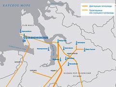 "Газета  ""Коммерсантъ "" пишет, что газопровод Бованенково-Ухта (система газопроводов с."