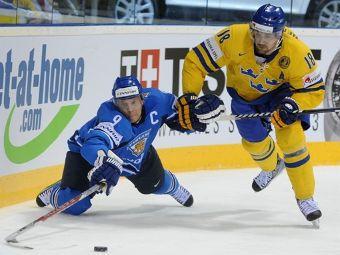 Матч финала ЧМ 2011 по хоккею Швеция - Финляндия
