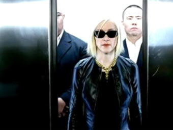 Мадонна в рекламном ролике BMW