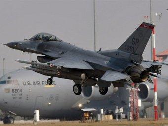 Самолеты ВВС США, принимающие участие в операции в Ливии. Фото ©AFP