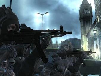 Скриншот из первого трейлера Call of Duty: Modern Warfare 3
