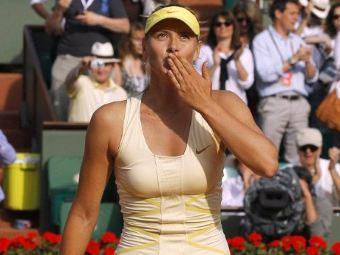 Мария Шарапова на Roland Garros. Фото ©AFP