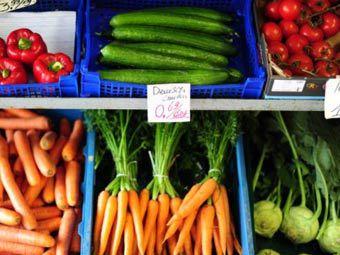 Овощи на рынке в Испании. Фото ©AFP