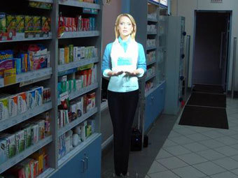 В российских аптеках начали работу виртуальные консультанты