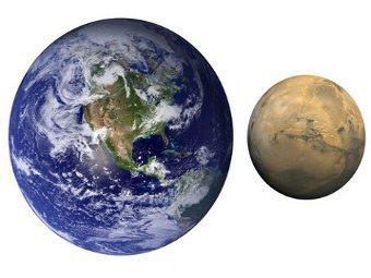 Блуждания Юпитера превратили Марс в карлика