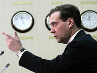 Рубрики.  Президент РФ Дмитрий Медведев высоко оценил действия сотрудников правоохранительных органов...