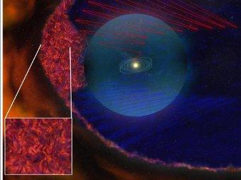 """""""Вояджеры"""" нашли на границе Солнечной системы магнитные пузыри"""
