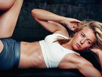 Мария Шарапова в рекламе Nike