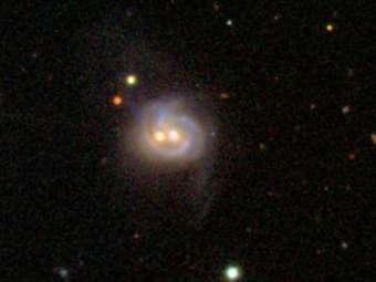 Галактика NGC 3758. Изображение SDSS