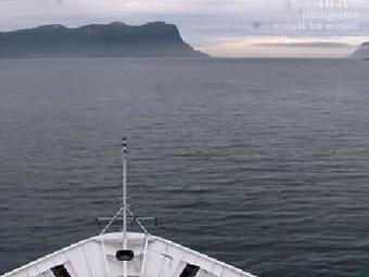 кадр прямой трансляции с сайта nrk.no