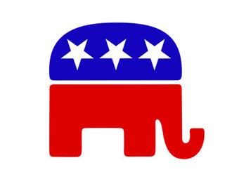 Логотип службы поддержки республиканской предвыборной кампании. Изображение goplogo.com