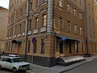 Здание центрального офиса Российского Банка Развития. Изображение с сервиса maps.ya.ru
