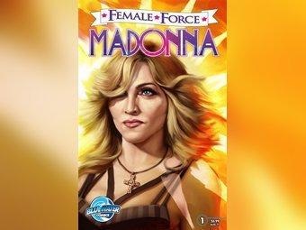 Обложка комикса о жизни Мадонны. Иллюстрация, переданная по каналам ©AP