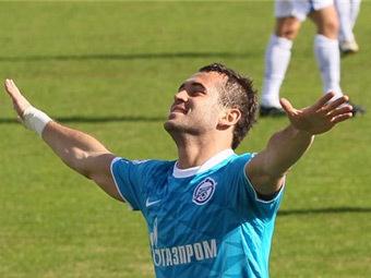 Александр Кержаков. Фото fc-zenit.ru
