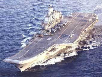 """ТАВКР """"Адмирал Кузнецов"""". Фото с сайта www.fea.ru"""