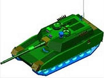 Предполагаемый внешний вид FMBT. Изображение с сайта globalsecurity.org