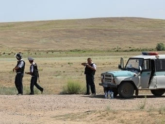 Спецназ в Актюбинской области Казахстана. Фото tengrinews.kz