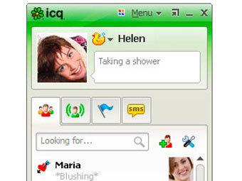 Мессенджер ICQ, изображение с сайта icq.com