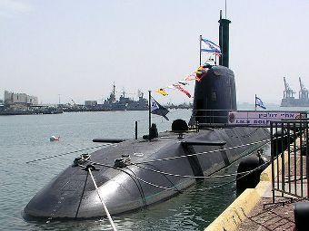 Подводная лодка типа Dolphin ВМС Израиля. Фото shlomiliss с сайта wikipedia.org