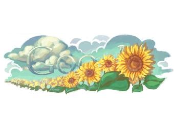 """""""Дудл"""" Google ко Дню независимости Украины в 2010 году"""