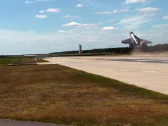 F-35C при тестовото излитане