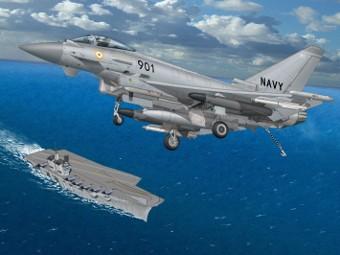 Палубный Typhoon. Изображение пресс-службы Cassidian