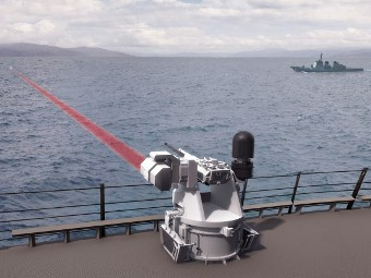 Mk 38 Mod 2 TLS. Изображение пресс-службы BAE Systems