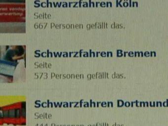 Немецкие безбилетники объединились в социальных сетях против контролеров