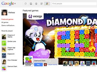 игра google+