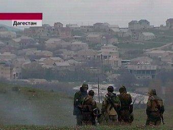 Спецоперация в Дагестане. Кадр Первого канала (архив)
