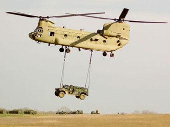 Вертолет CH-47F Chinook