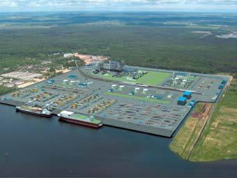 Проект индустриального парка в Калининградской ОЭЗ. Иллюстрация с сайта investinkaliningrad.ru