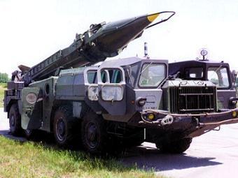 """Ракета Р-17 (""""Скад-Б"""") на мобильной пусковой установке. Фото с сайта missilethreat.com"""