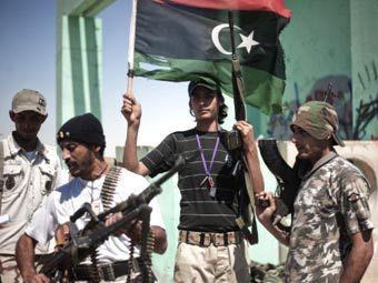 Ливийские повстанцы. Фото ©AFP