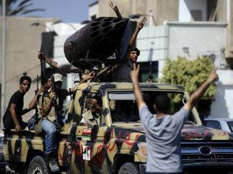 Повстанцы в Триполи. Фото ©AFP