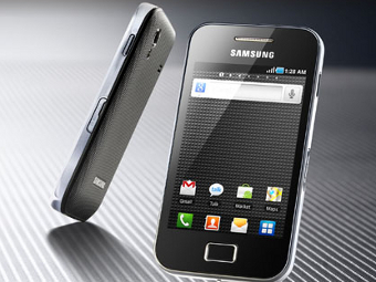�������� Galaxy Ace, ����������� � ����� Samsung